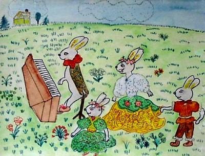 Детский рисунок Марии Трудлер