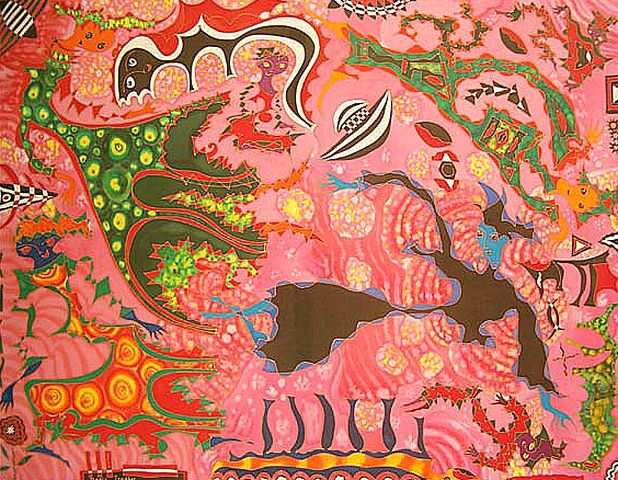 Желто-розовый джаз, 2003