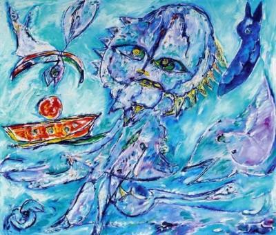 Поэтические картины Карла-Хеннинга Педерсена (Carl-Henning Pedersen)
