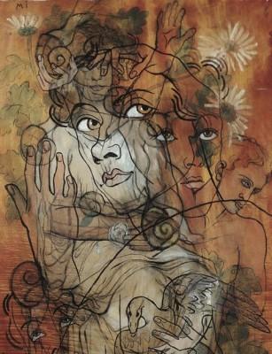 Мысли в разных направлениях у художника Франсиса Пикабиа (Francis Picabia)
