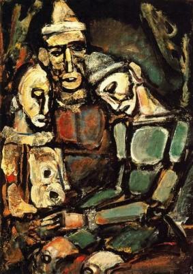 Жорж Руо (Georges Rouault). Застрявший в горле смех живописи.
