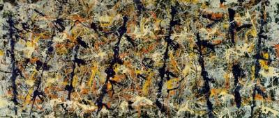 Чистая гармония льющихся красок Джексона Поллока (Jackson Pollock)