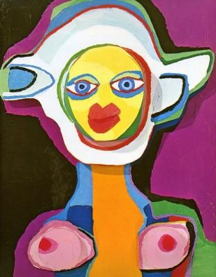 Инстинктивная живопись Карела Аппеля (Karel Appel)