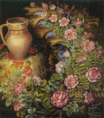 Самозабвенное и святое рисование Екатерины Белокур (Katerina Bilokur)