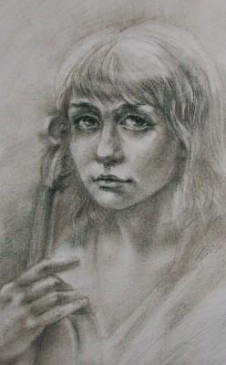 Александра Мережникова, Автопортрет
