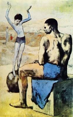 Пабло Пикассо, Девочка на шаре