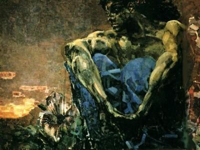 Михаил Врубель, Демон сидящий