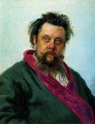 Илья Репин, Портрет Мусоргского