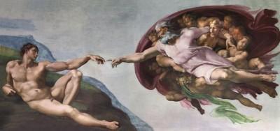 Микеланджело, Сотворение Адама