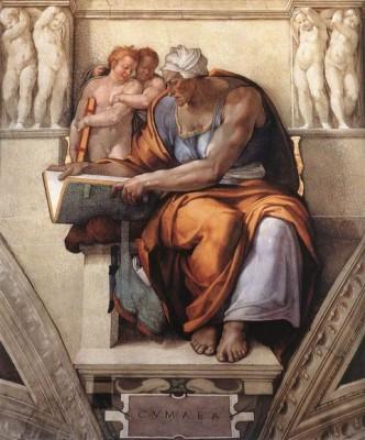 Микеланджело, Кумская сивилла