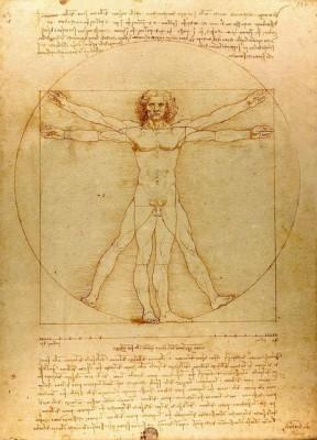 Леонардо да Винчи, Витрувианский человек
