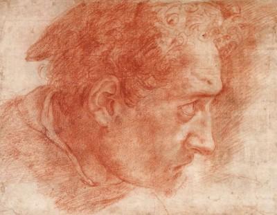 Полидоро да Караваджо, Голова Святого Томаса