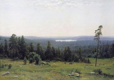 Иван Шишкин, Лесные дали