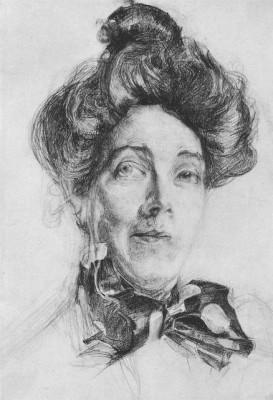 Врубель. Портрет Н.И.Забелы