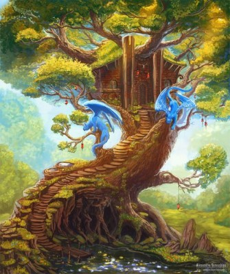Александра Семушина. Дом на дереве