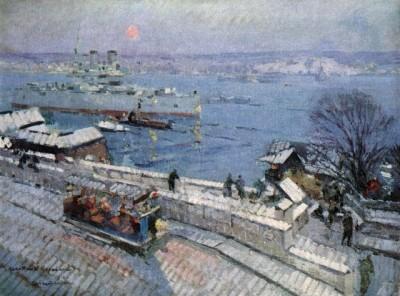 Константин Коровин, Севастополь зимой