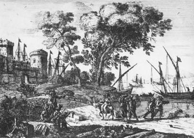 Клод Лоррен, Морской порт
