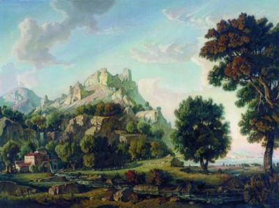Константин Богаевский, Крымский пейзаж