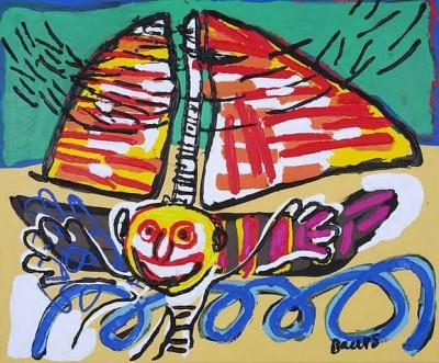 Веселый дикарь в искусстве - Менно Баарс (Menno Baars)