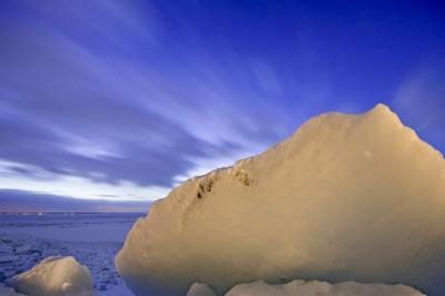 Ледяные алмазы – Украина. Киевское море (водохранилище).