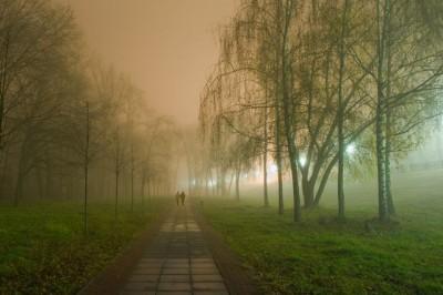 Прогулка перед сном – Украина. Киев. Оболонь.