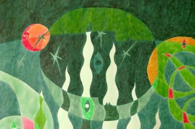 Мария Трудлер. Ноев ковчег, 2011 (деталь)