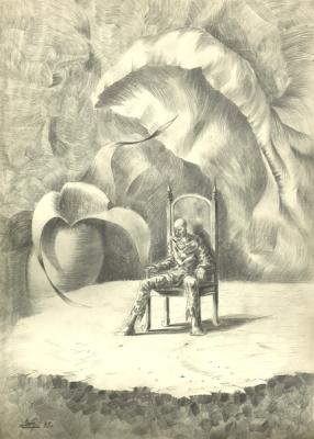 Олег Биркая. Шут, 1993г.