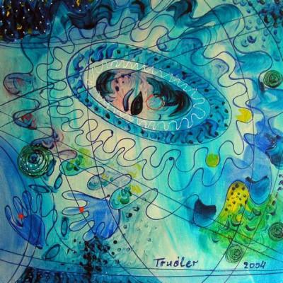 Палитра художника, 2004, акрилик на полотне