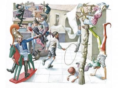 Пиноккио в иллюстрации Ясена Гюзелева