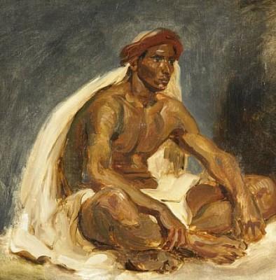 Поэзия формы и цвета Эжена Делакруа (Eugène Delacroix)