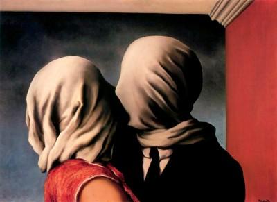 Любовники. Рене Магритт (Rene Magritte)