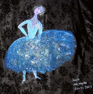 Счастливый художник Катя Медведева