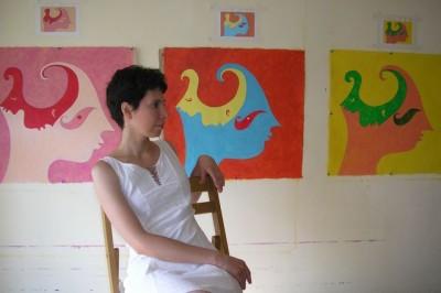 Мария Трудлер. Автопортрет, 2012