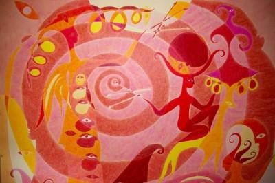 Мария Трудлер. Спираль Судьбы, 2011 (деталь)