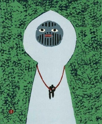 Японский альпинист и художник-гравер Уметаро Азечи (Umetaro Azechi)