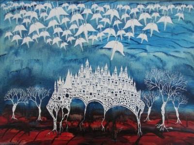 Войкан Морар (Vojkan Morar) – художник, рисующий ангелов