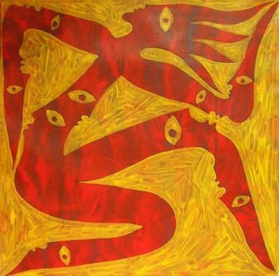 Покорность судьбе, 2008, холст, акрил