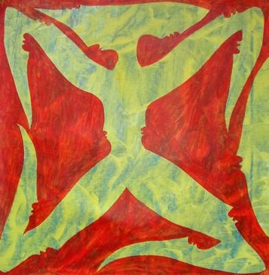 Знак Зауми, 2008, холст, акрил