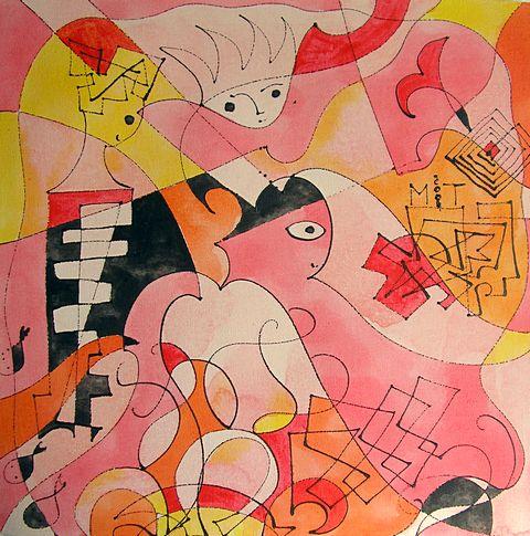 Розовый витраж, 2004